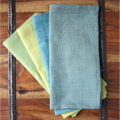 Grass to Sky 20 inch Cotton Napkin Set of 4