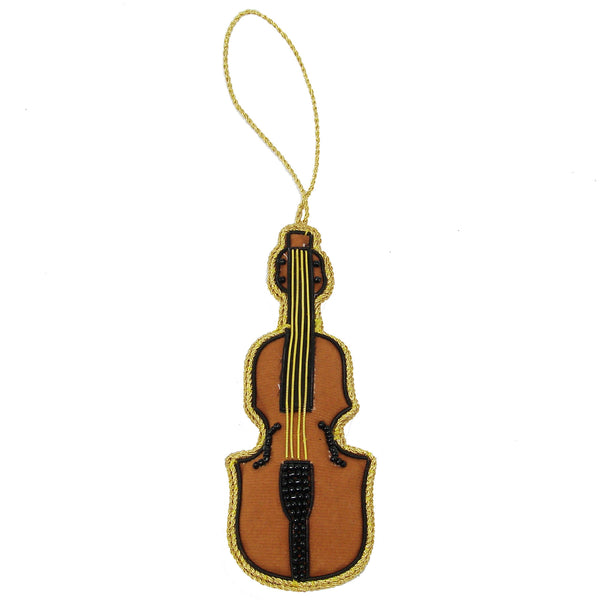 Violin Holiday Ornament