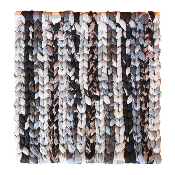Recycled Fabric Trivet Black