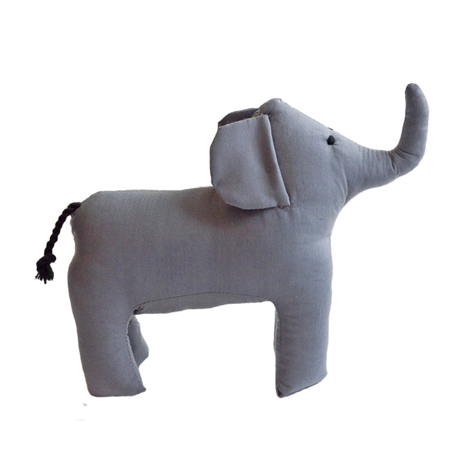 Safari Stuffed Animal Large Elephant - Imani Workshop