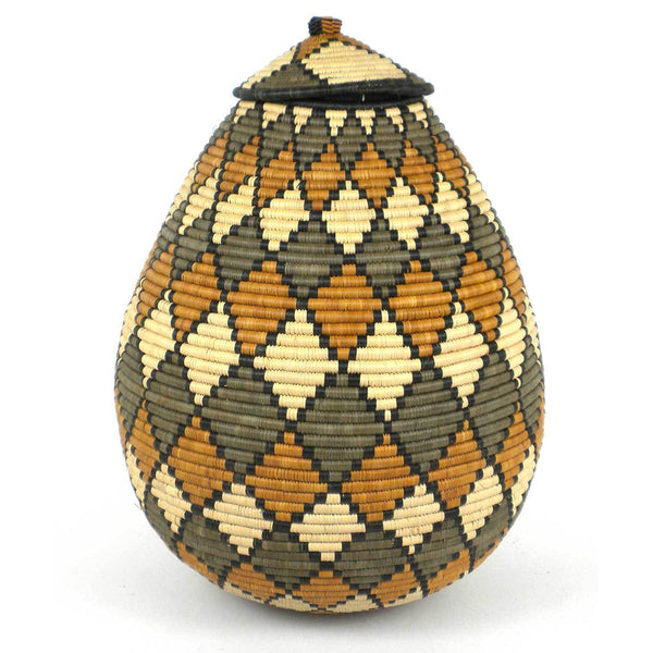 Large Zulu Wedding Basket - One of a Kind - Ilala Weavers