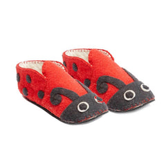 Ladybug Slippers Adult Large