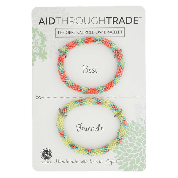 Roll-On Friendship Bracelets - Coral Reef