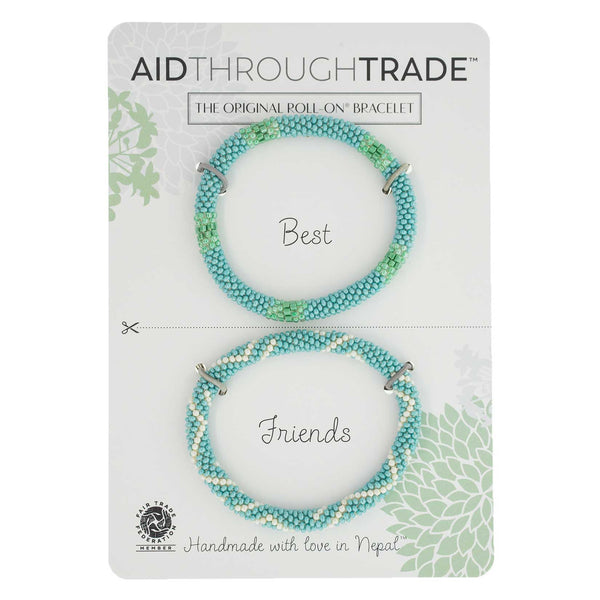 Roll-On Friendship Bracelets - Turquoise Vibe