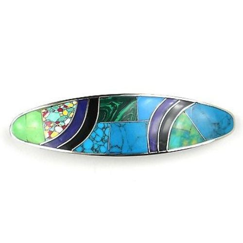 Oceanic Mosiac Hair Barrette
