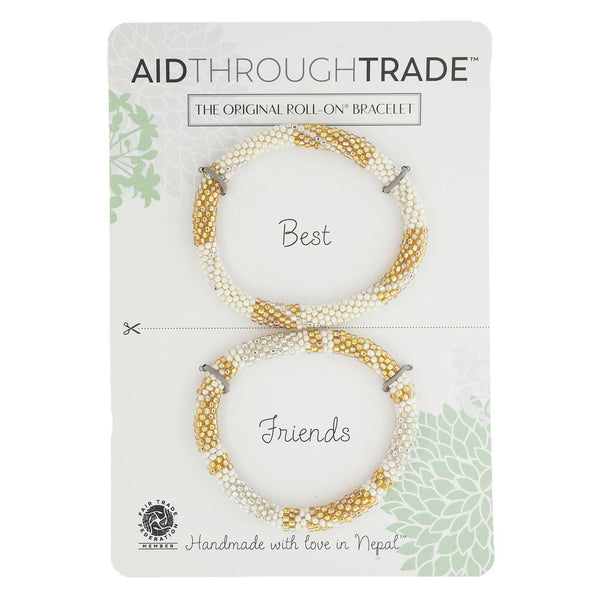 Roll-On Friendship Bracelets - Golden Goddess