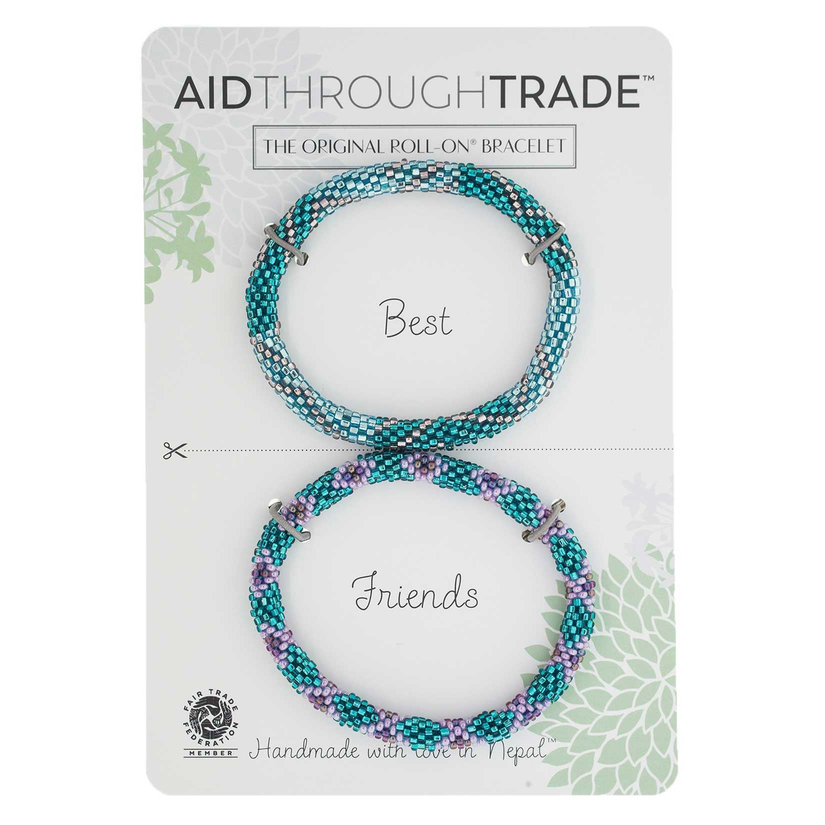 Roll-On Friendship Bracelets - Mermaid