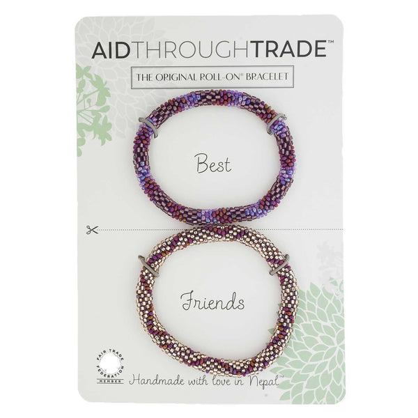 Roll-On Friendship Bracelets - Cranberry Spice