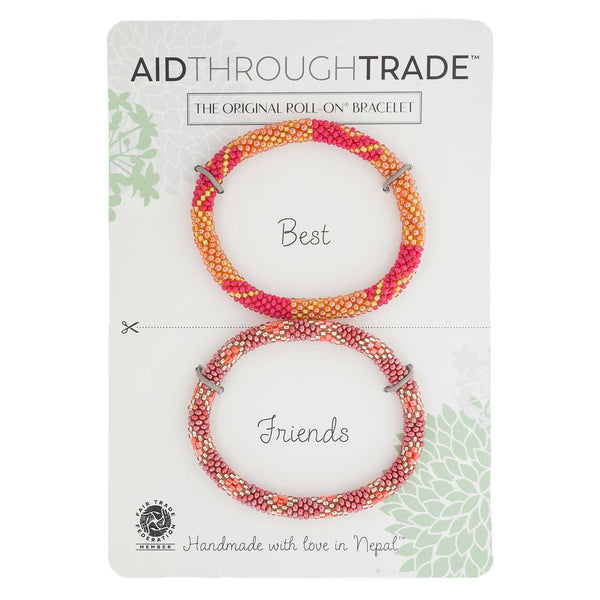 Roll-On Friendship Bracelets - Majestic Mango
