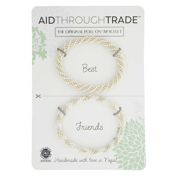 Roll-On Friendship Bracelets - Pearl