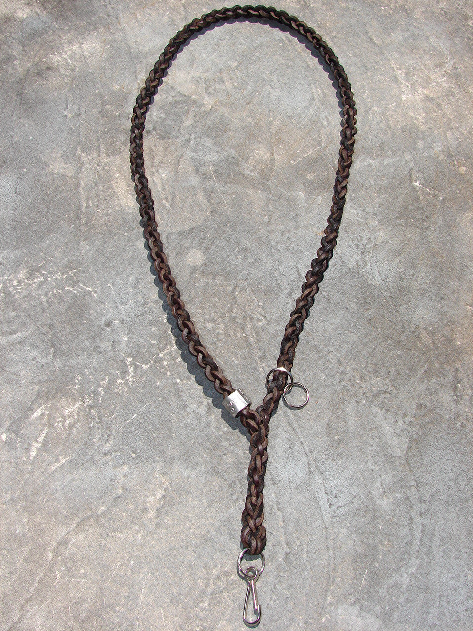 Single whistle lanyard