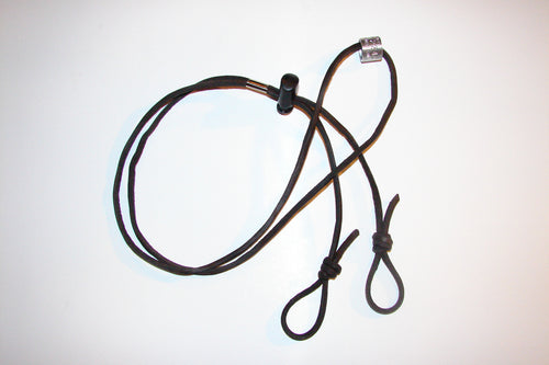 Single Call Lanyard - Leather