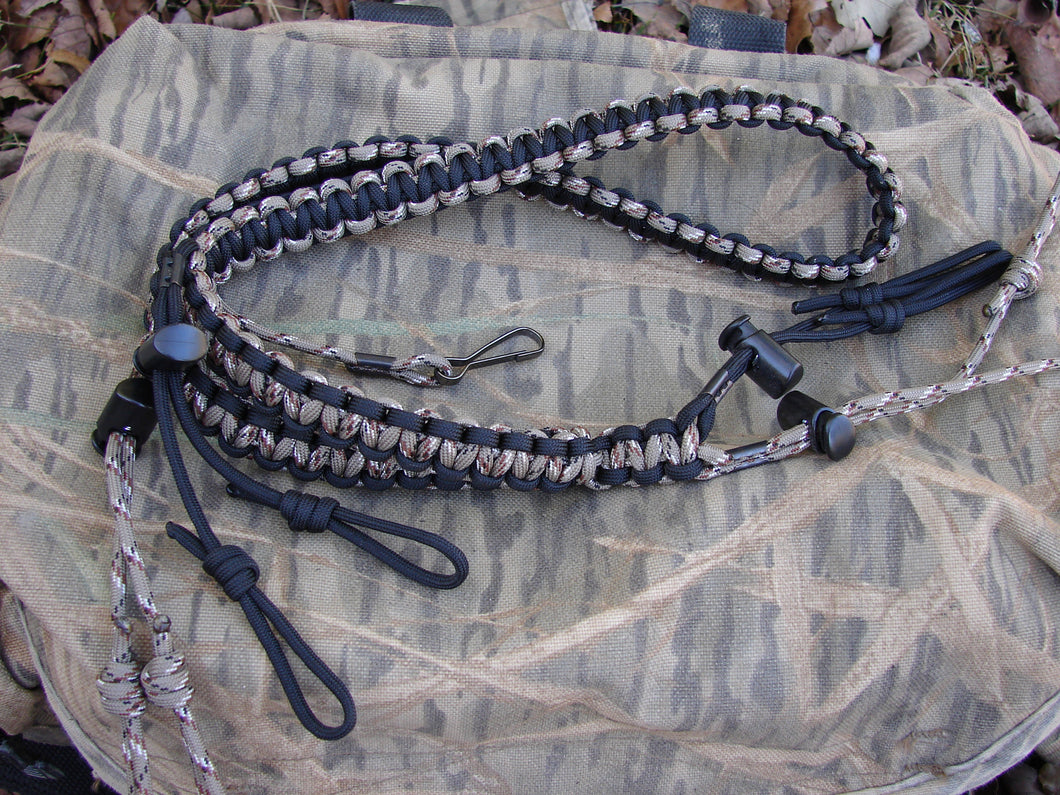 The DOUBLE WIDE paracord lanyard