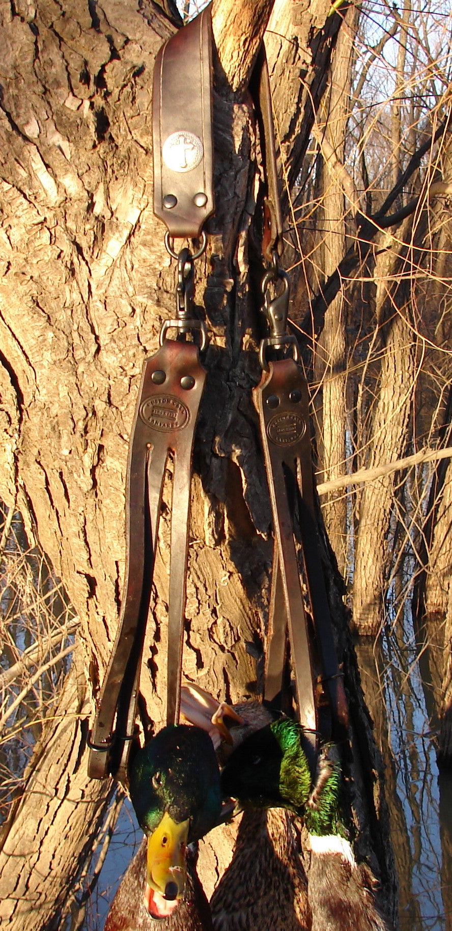 Deluxe Leather Duck Strap Custom Call Lanyards