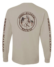100% Jersey knit Beige Long Sleeve T shirt