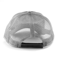 Grey mesh & dark grey front Trucker Cap with velcro closure