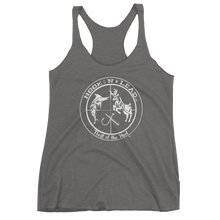 Women's triblend racer back tank top (11 colors)