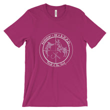 HOOKNLEAD.com offers woman a short sleeve t shirt for outdoors man that hunt fish in pink print