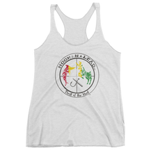 Women's triblend racer back tank top (4 colors)