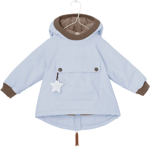 MINI A TURE UK BABY JACKET WEN BLUE FOG