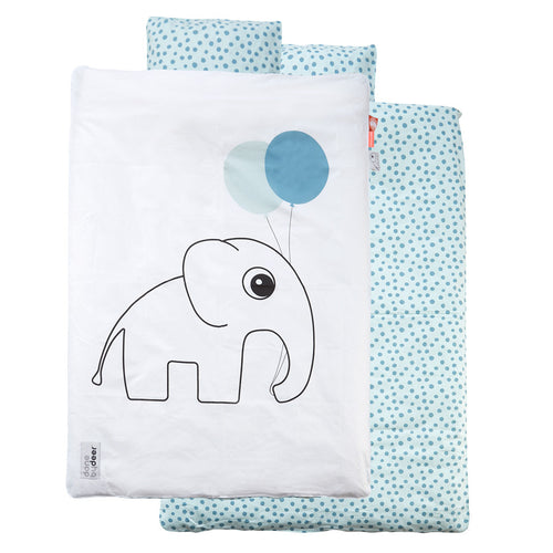 done by deer elphee junior toddler bedding blue