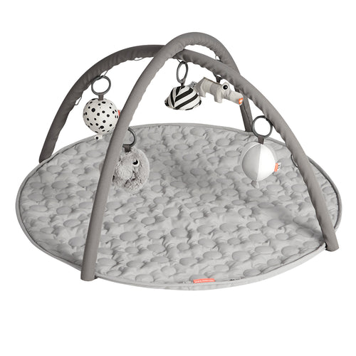done by deer uk baby activity gym mat grey