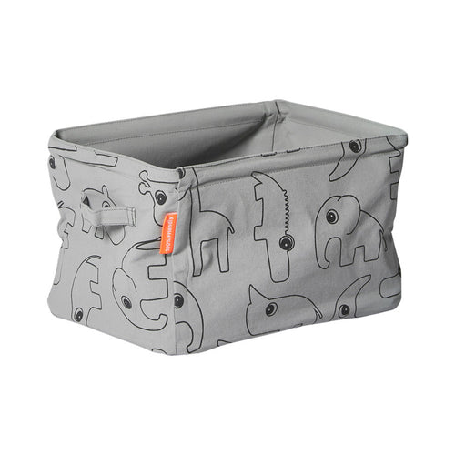 Soft Storage Basket - Grey
