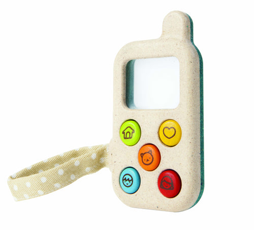 Plan Toys wooden pretend phone