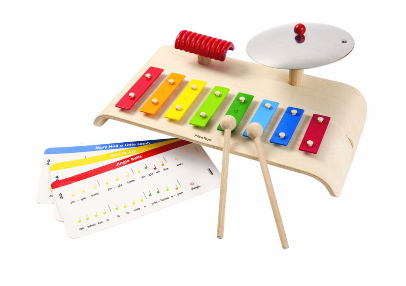 plantoys wooden toy music xylophone