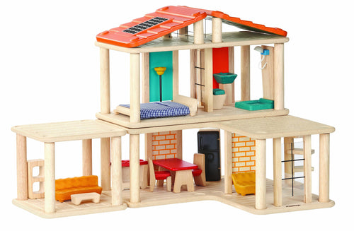 Plan Toys wooden creative play doll house