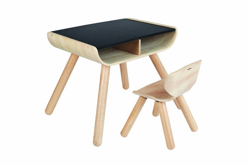 plantoys wooden table chair child baby toddler