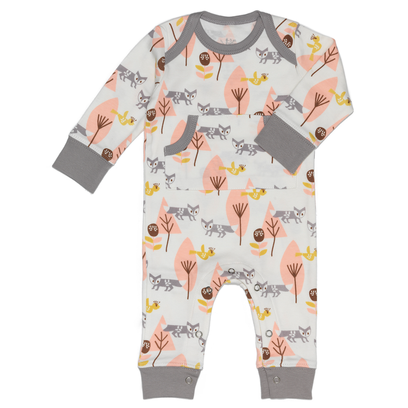 Fresk playsuit fox pink
