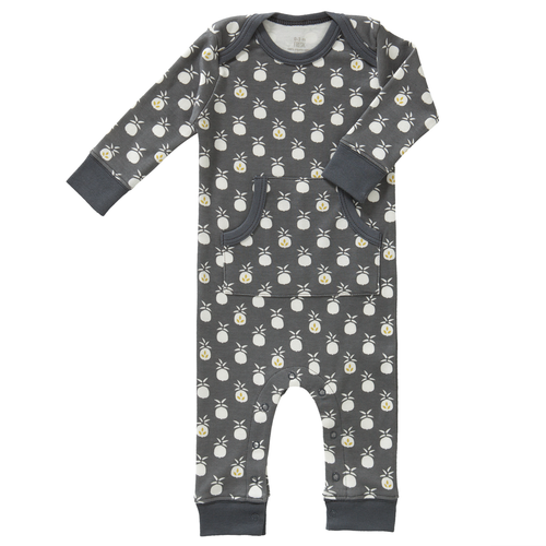 Baby Playsuit - Pineapple Anthracite