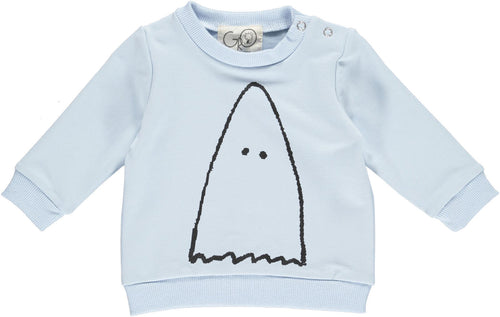 Gro Company Blue Baby Jumper Ghost