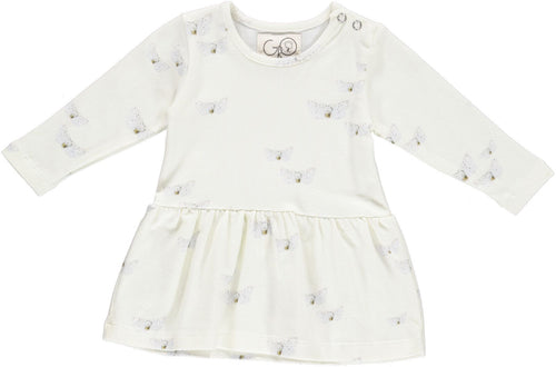 gro company butterfly dress baby