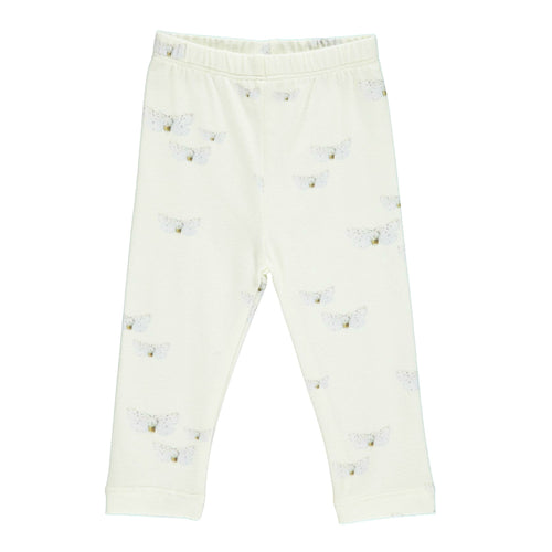 gro company baby leggings butterfly print