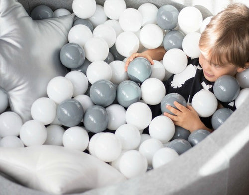 Grey Ball Pit pool toddlers