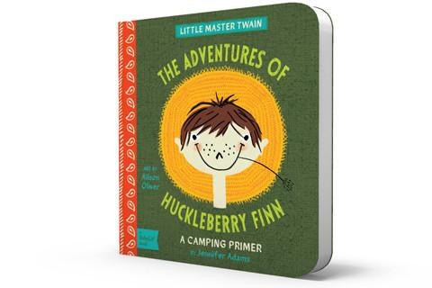 BabyLit Baby Board Book Huckleberry Finn