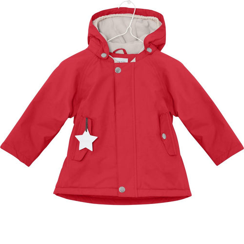 Wally winter jacket - Chinese Red