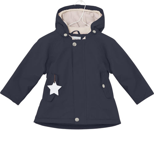 Wally winter jacket - Sky Captain Blue