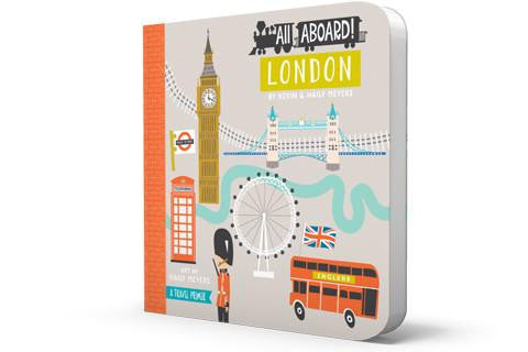 Board Book - All Aboard ! London