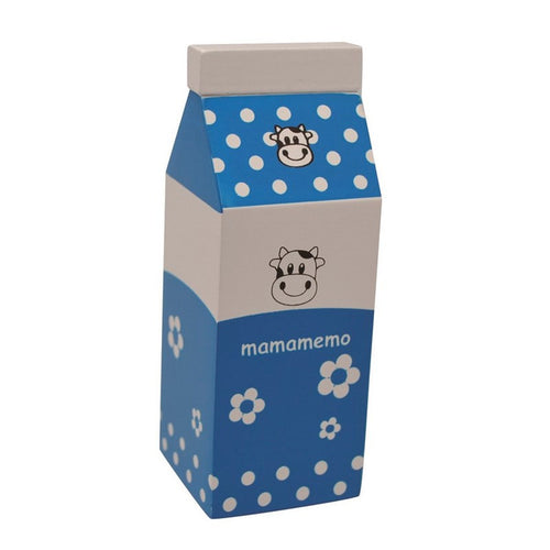 Blue Wooden Milk