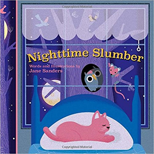 Whispering Words Board Book - Nighttime Slumber
