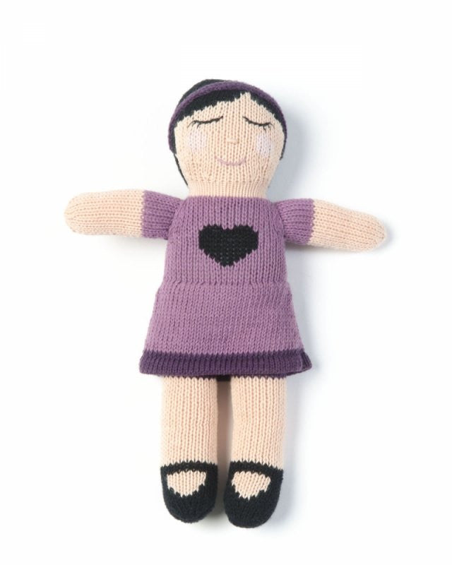 smallstuff knitted doll soft toy sarah