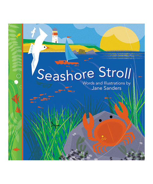 Whispering Words Board Book - Seashore Stroll