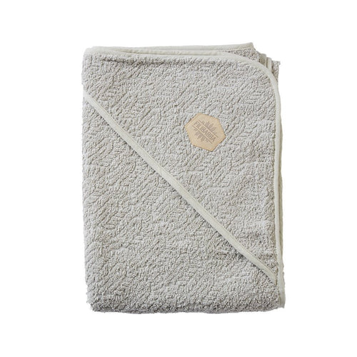 Hooded Towel - Warm Grey