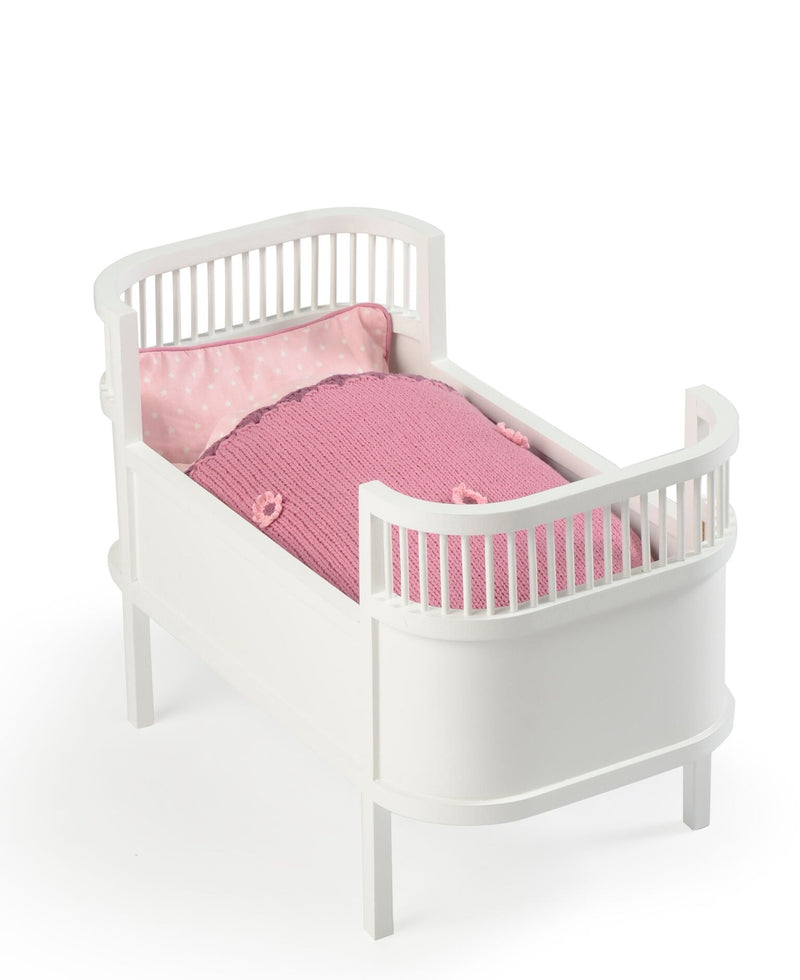 smallstuff doll cot bed wooden