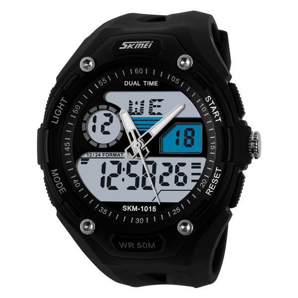 SKMEI Digital and Analog Military 5ATM Shock Sports Watch