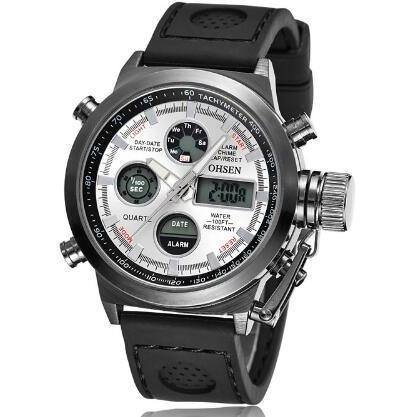 Casual Watch - OHSEN Luxury Men's Digital And Analog Watch