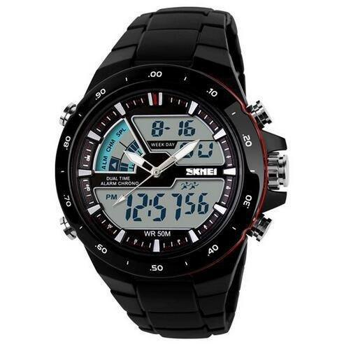 Casual Watch - SKMEI Ultra Stylish 50m Casual Digital And Analog Casual Watch